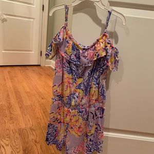 Lilly Pulitzer girls romper, size XL (12-14)